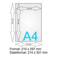 Flyer-Symbol A4