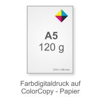 Flyer-Symbol A5 120g Color